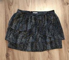 Silence + Noise Tulle Skirt black-natural white