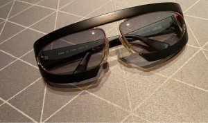 Silhouette Retro Glasses black-gold-colored