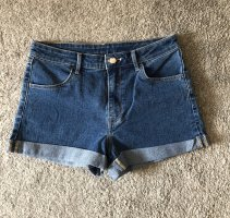 Simple high waist jeans dark blue
