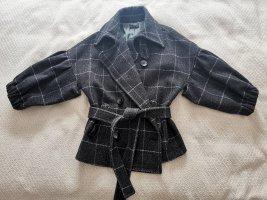 Sisley Giacca di lana grigio scuro