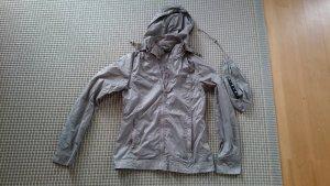 Sisley Veste à capuche beige clair polyamide