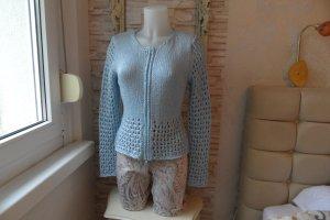 Sistes Jacke, Pullover Gr. 38 Blau Edel & Modern