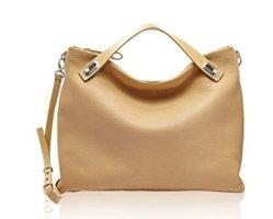 Skagen Carry Bag beige leather