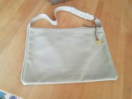 Skagen Tasche Leder beige hellgrau Anesa XL Handtasche Umhängetasche
