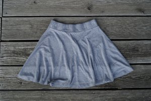 FB Sister Skaterska spódnica szary-jasnoszary
