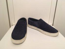 Skaterschuhe aus dunkelblauem Nubukleder von H&M in Größe 38 (38,5)