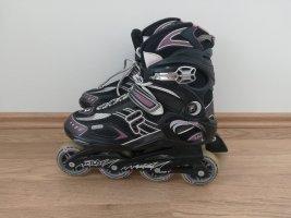 Fila Zapatos de patinador negro-rosa