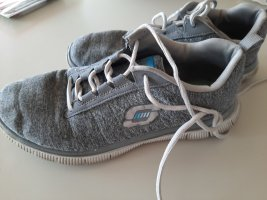 Sketchers Wedge Sneaker grey