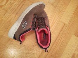 Skechers Slip-on Sneakers grey-magenta