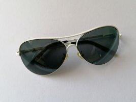 Skechers, Sonnenbrille, Pilotenbrille, Bikerbrille, weiß