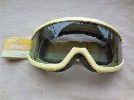 Ski Brille Uvex Ventura anti-fog in Blassgelb