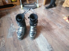 Snow Boots silver-colored