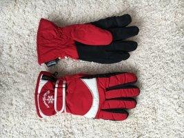 Skihandschuhe, rot, TCM