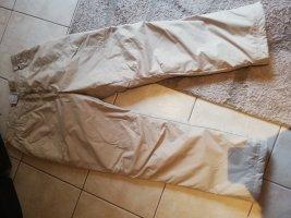 Pantalón de esquí crema-beige