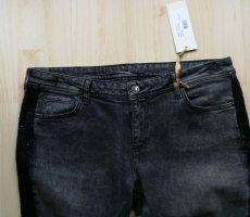 Thomas Rath Jeans skinny nero