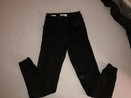 Bershka Jeans skinny nero