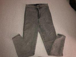Bershka Jeans skinny grigio