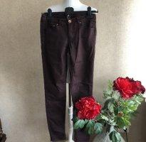 Skinny Jeans Hose in dunkel violet ❤️