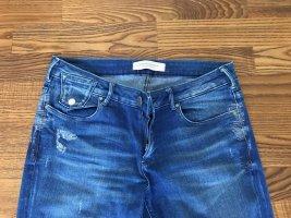 Skinny Jeans von Maison Scotch mit toller Waschung und Details