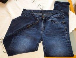 Oge & Co. Jeans elasticizzati blu-blu acciaio Cotone