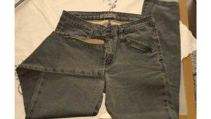 Just blue Jeans elasticizzati verde bosco-verde scuro Cotone