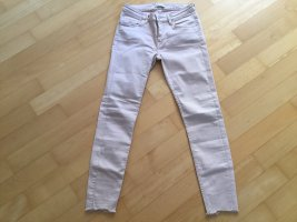 Zara Low-Rise Trousers pink
