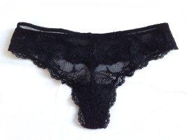 SKINY Spitzen String Panty black – size S (34/36)