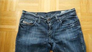 Diesel Tube jeans donkerblauw