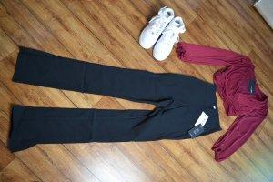 Slim-fit Super Stretch Slit Pants 36 schwarz Nakd