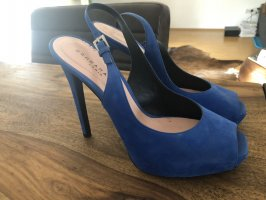 Barbara Bui Platform Sandals blue