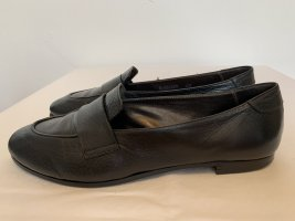 AGL Slippers black leather