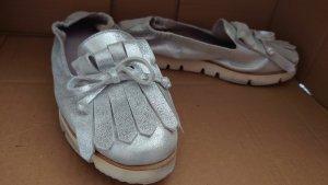 Kennel und Schmenger Zapatos formales sin cordones color plata