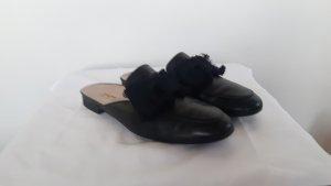 Paul Green Sabots black-oatmeal leather