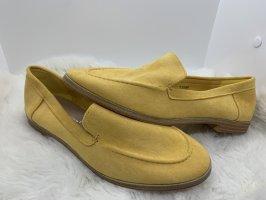 Babouche jaune