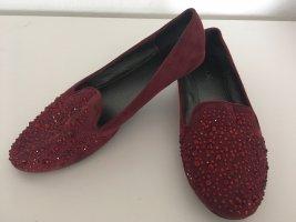 Aldo Classic Ballet Flats bordeaux mixture fibre