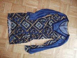 SMASH Kleid Tunika tolles Muster retro Damen vintage Boho Stil 70er TOP 36/38 jeans