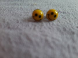 Smiley Ohrringe