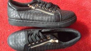 0039 Italy Chaussure skate brun foncé fibre synthétique
