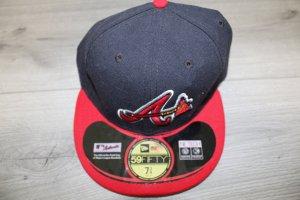 New Era Berretto da baseball nero-rosso