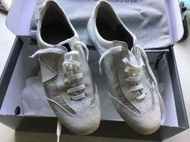 Sneackers Silber / weiß  Gr. 37,5 MURPHY & NYE