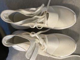 Adidas Sneaker stringata bianco Tessuto misto
