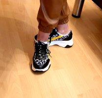 Alba Moda Lace-Up Sneaker multicolored