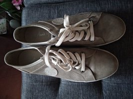 Annie G. Lace-Up Sneaker light grey-grey