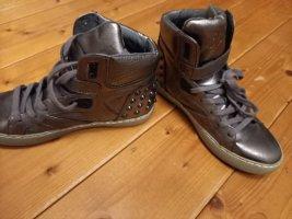 ASH Sneakers met veters zilver Gemengd weefsel