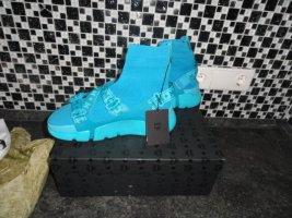 MCM Basket slip-on turquoise-bleu clair
