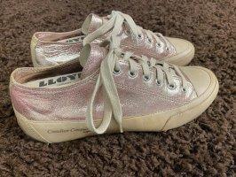 Candice Cooper Sneaker stringata color oro rosa-beige