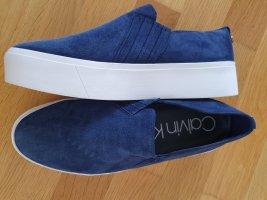 Calvin Klein Slip-on Sneakers blue