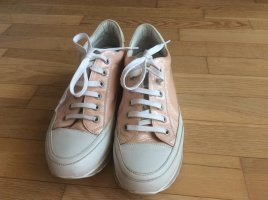 Candice Cooper Lace-Up Sneaker white-pink leather