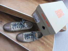 Candice Cooper Basket à lacet argenté-gris brun cuir