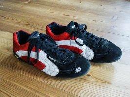 Sneaker Docker Gr. 40 schwarz rot weiß